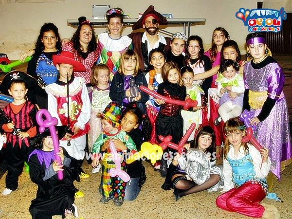 Fiestas Infantiles Domicilio Barcelona