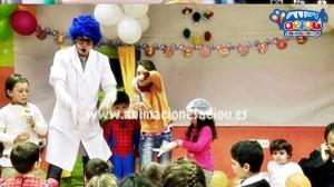 animadores fiestas infantiles en Barcelona