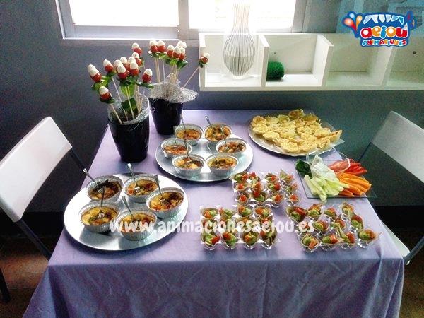 Catering para fiestas infantiles en barcelona a domicilio
