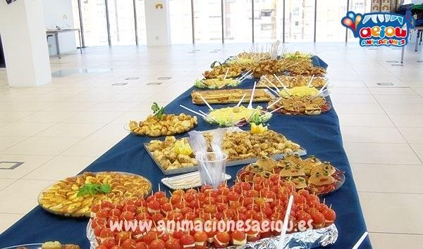 Catering para fiestas infantiles en barcelona