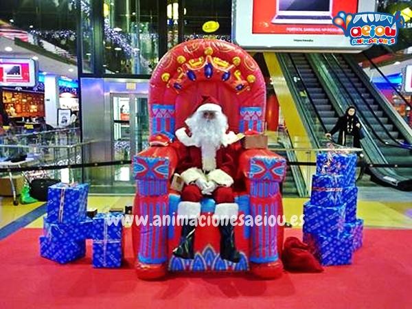 Contratar a Papá Noel a domicilio en Barcelona