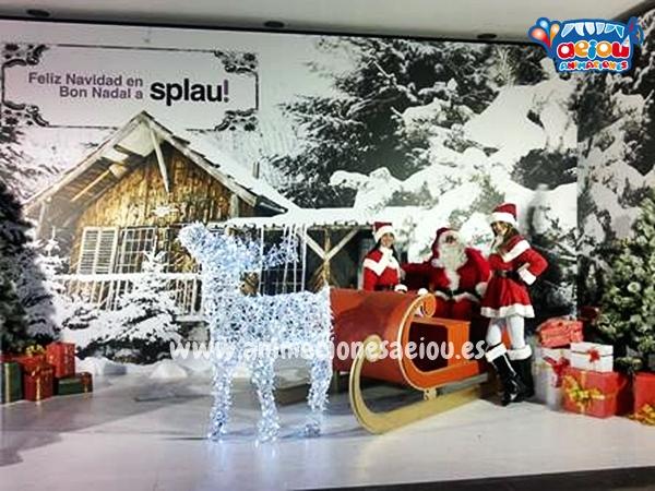 Contratar a Papá Noel en Barcelona en navidad