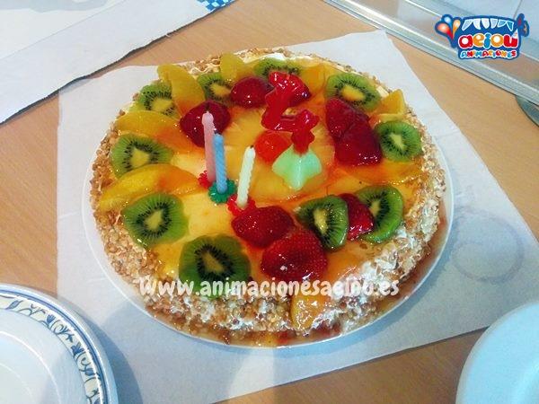 Menú de cumpleaños infantil en Barcelona