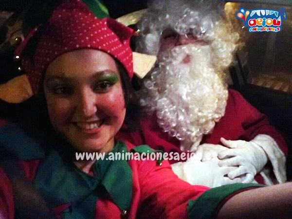 Santa Claus a domicilio en Barcelona para navidad