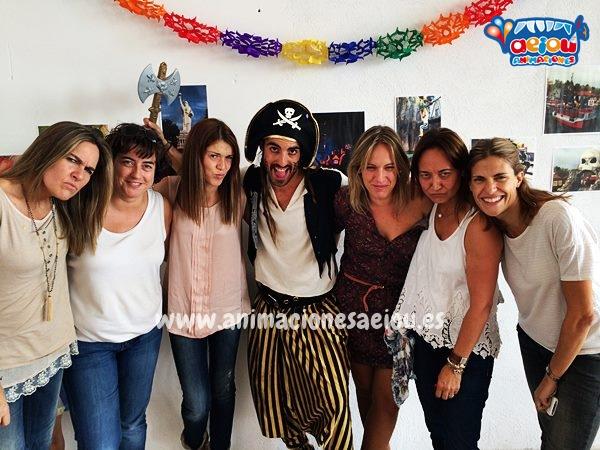 Piratas en fiestas de cumpleaños y comuniones en Barcelona