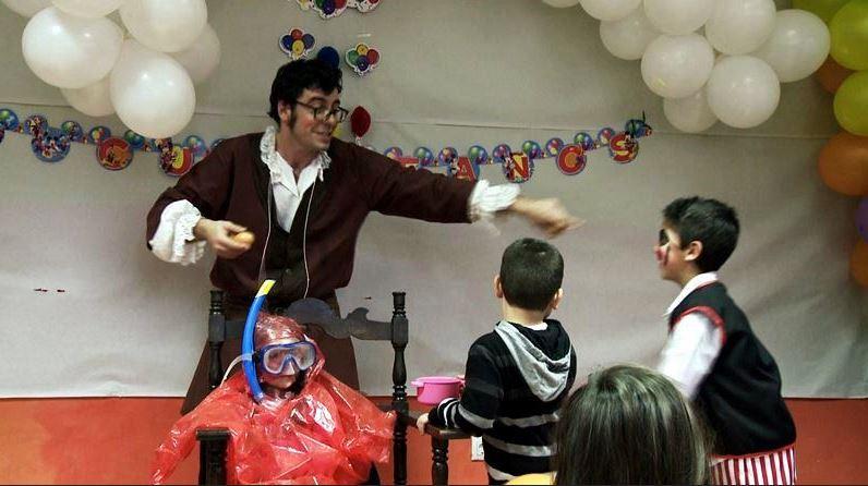 Animadores, magos y payasos para fiestas infantiles en Terrassa