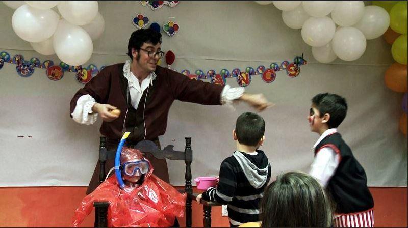 Payasos para fiestas infantiles en Manresa