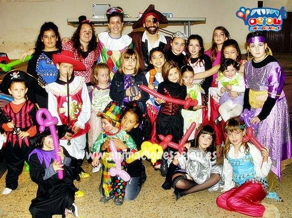 Animadores para fiestas infantiles en Figueres